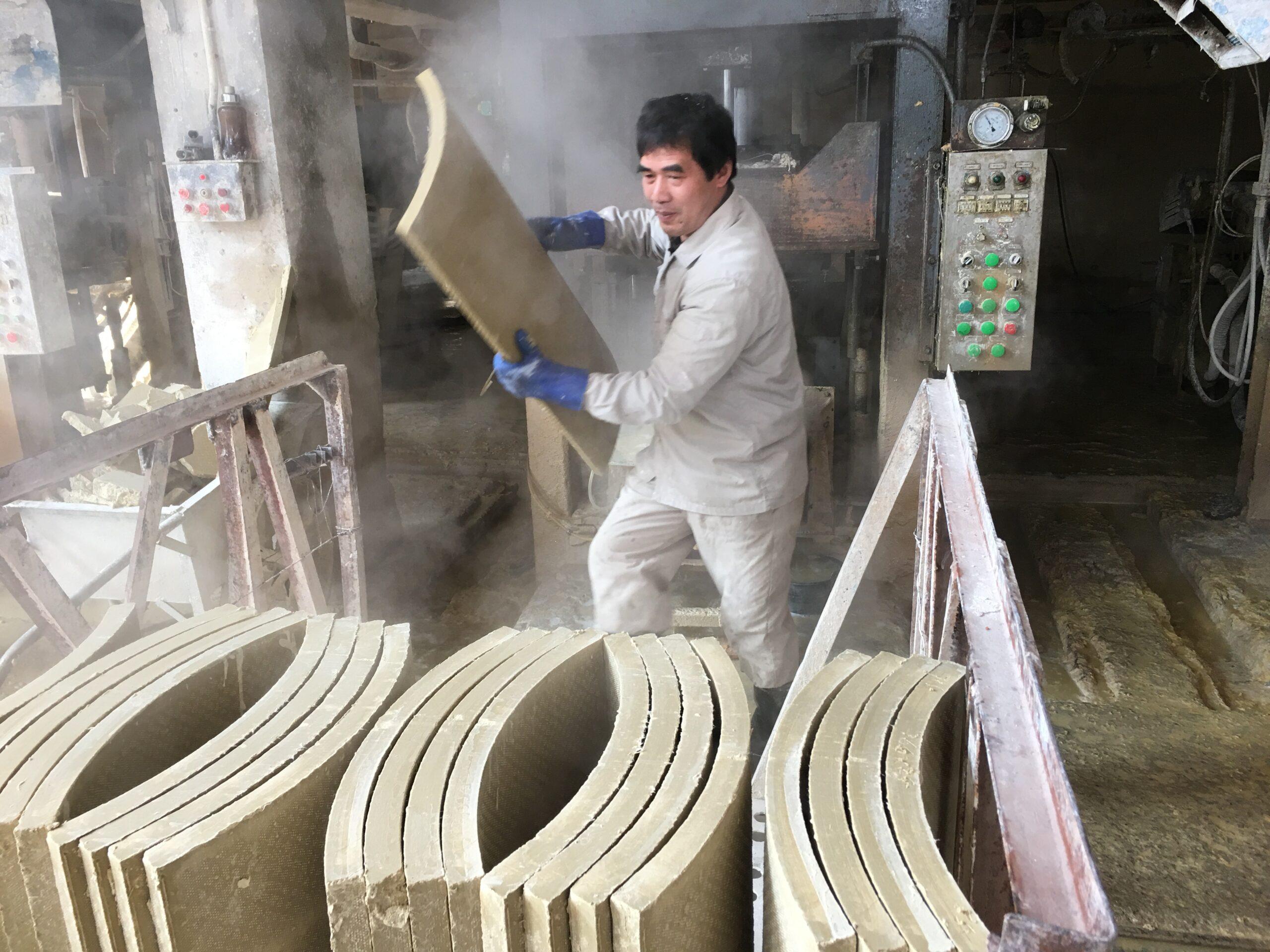 Filter Pressing Calcium Silicate Insulation