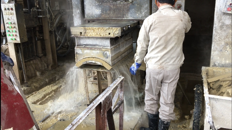 Filter pressed Calsil insulation