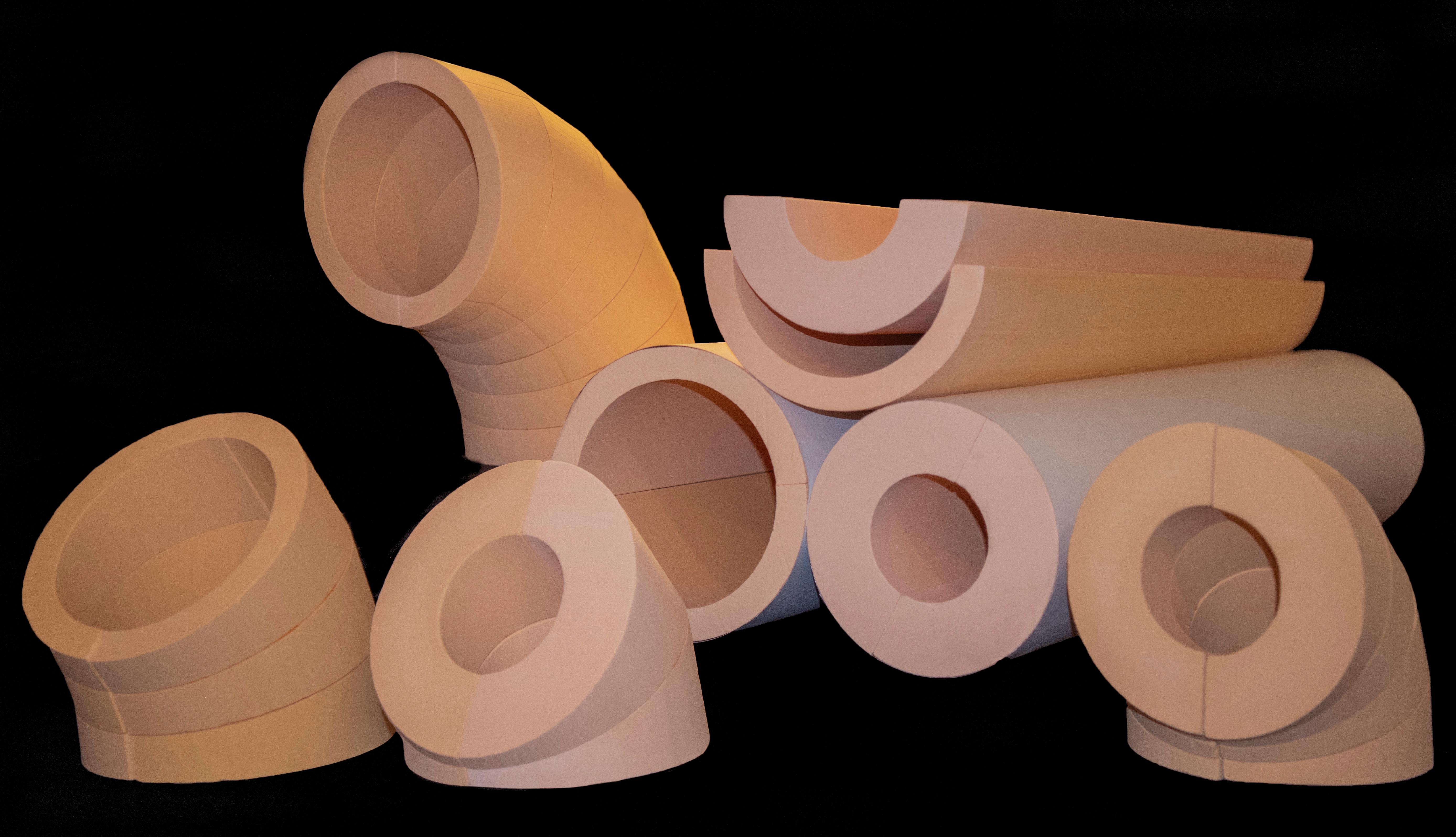 TPS Phenolic Foam Pipe Insulation